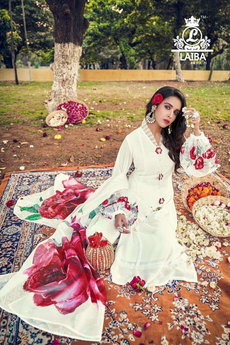 Laiba AM Vol 83 Exclusive Readymade 3 Piece Pakistani Style Set New Collection