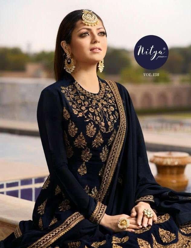 LT Fabrics Nitya Vol 138 Designer Party Wear Latest Dress New Collection 2021