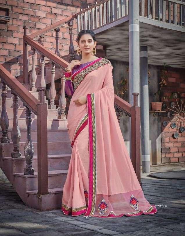 Mahotsav Norita Adveka 41100 Series Designer Party Wear Saree Catalog Wholesaler