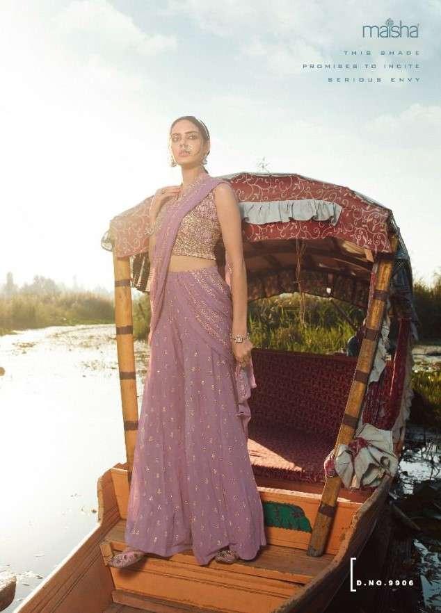Maisha Veronica 9906 Colours Designer Indo Western Dress New Collection