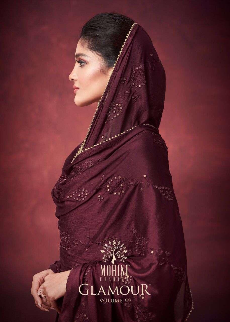 Mohini Fashion Glamour Vol 99 Plazzo Style Georgette Salwar Kameez Catalog Supplier