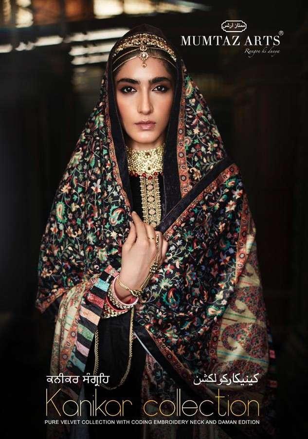 Mumtaz Arts Kanikar Velvet Vol 2 Designer Velvet Suit Winter Wear Collection