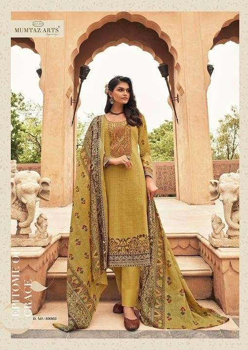 Mumtaz Arts Megh Malhar NX Printed Karachi Cotton Suit Catalog Wholesaler