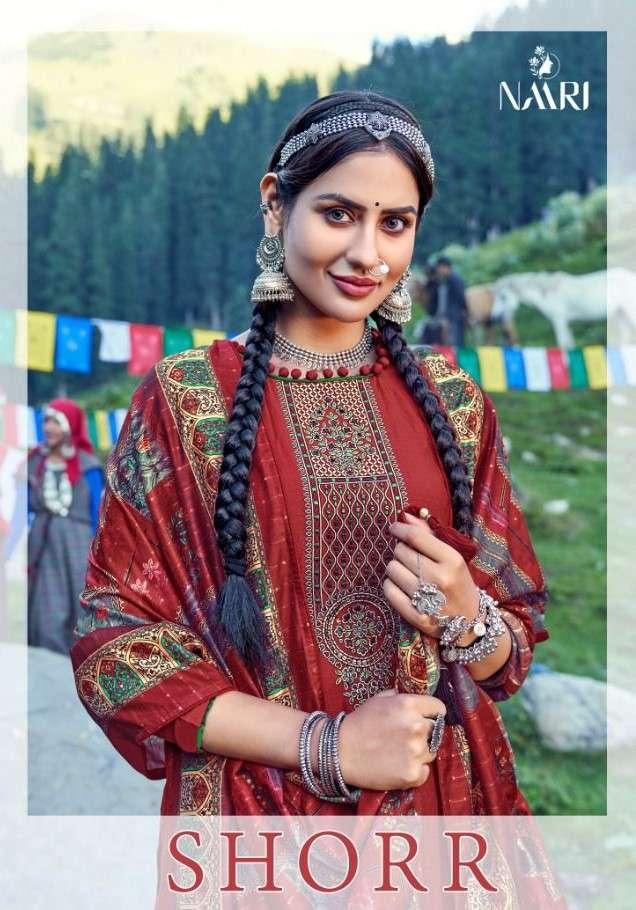 Naari Shorr Exclusive Fancy Silk Salwar Suit Catalog Wholesaler