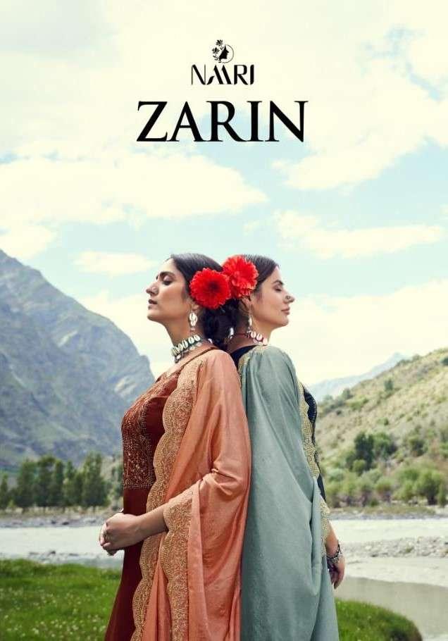 Naari Zarin Silk Salwar kameez latest Catalog Supplier in Surat