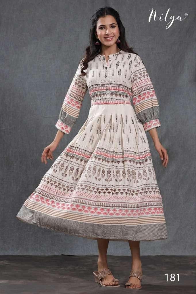 Nitya NC Designer Stylish Cotton Kurti Catalog Buy Online