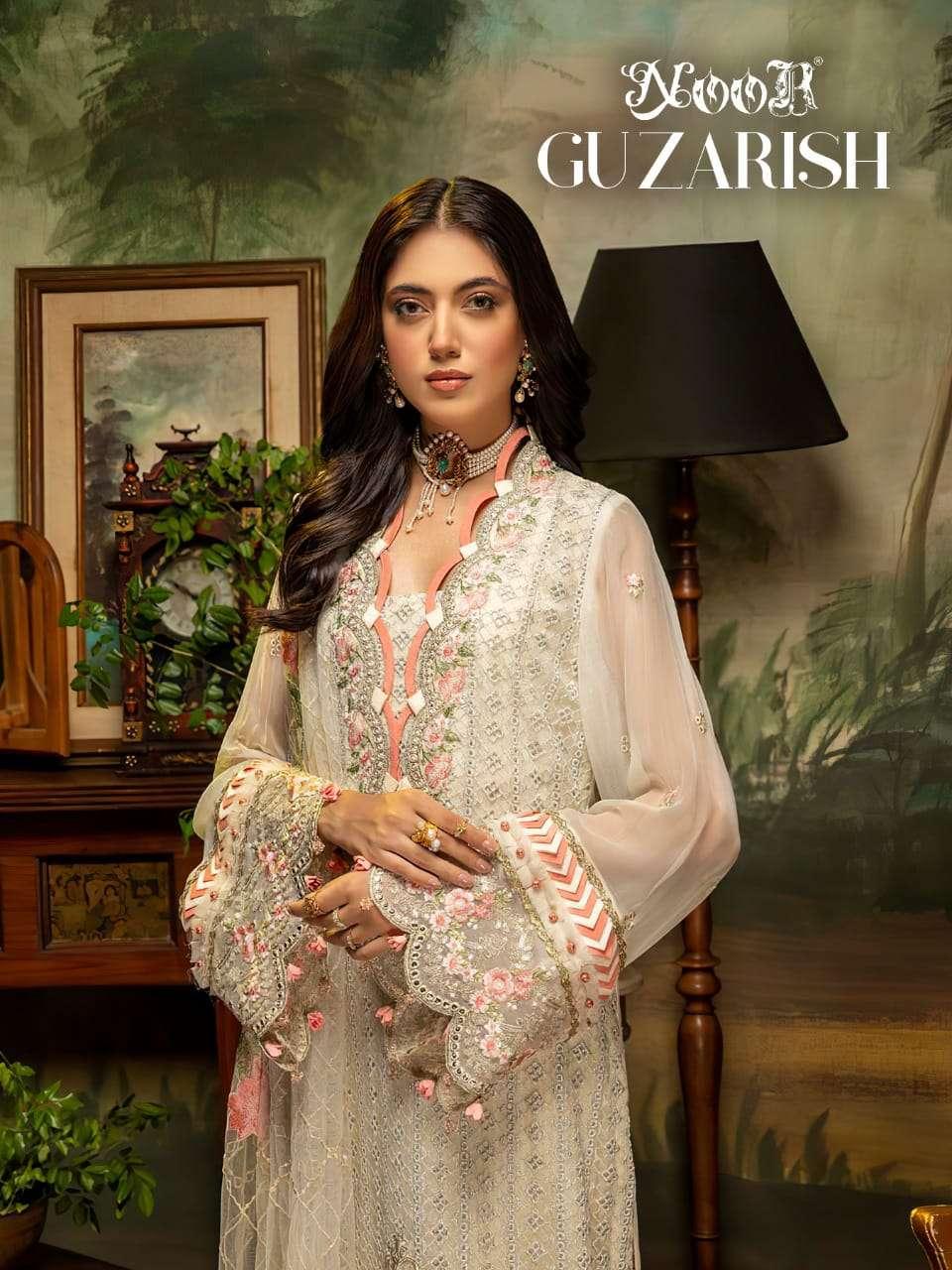 Noor Gujarish Designer Stylish pakistani Suit Catalog Wholesale Supplier