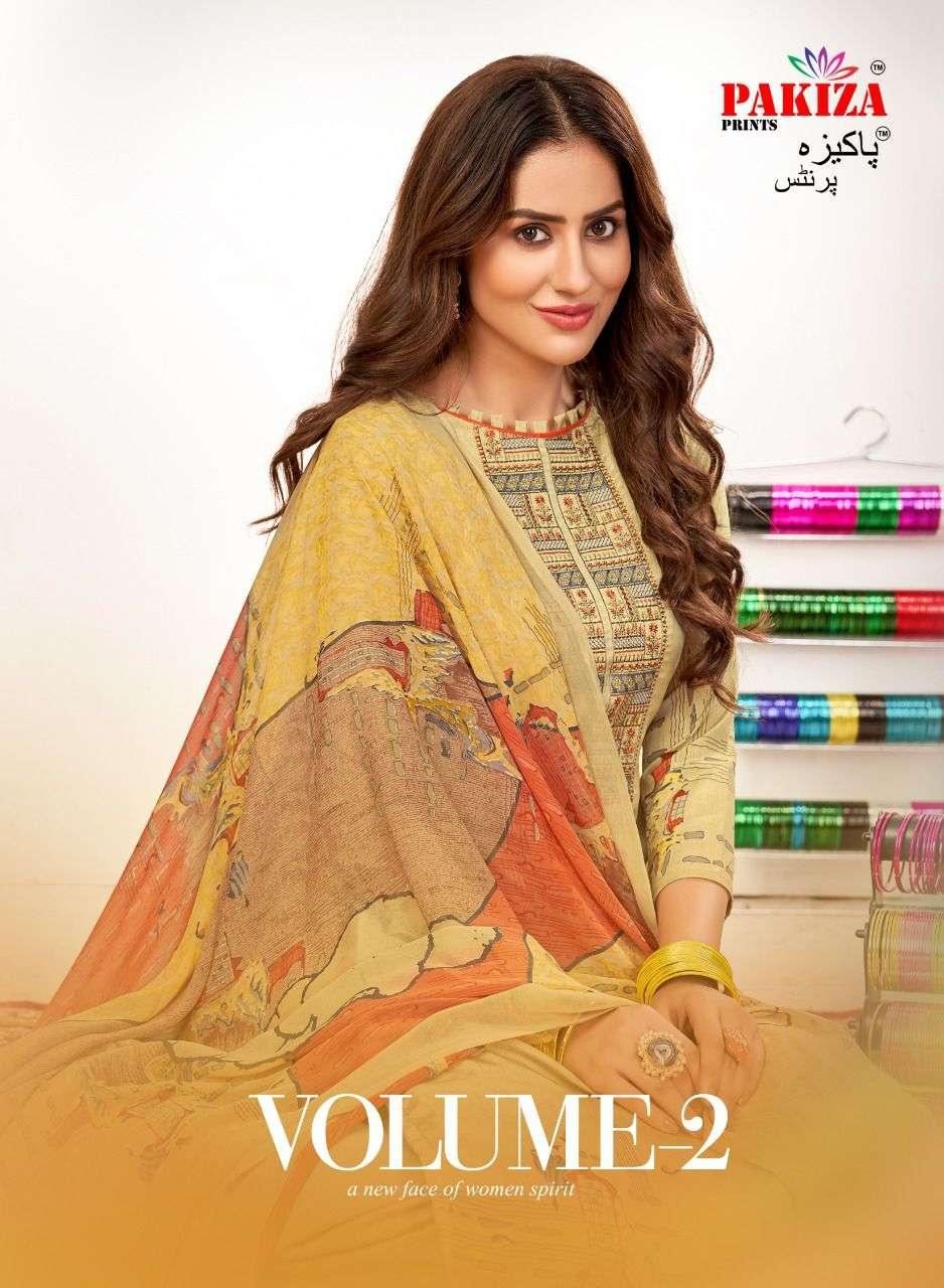 Pakiza Sana Safinaz Vol 2 French Crepe Salwar Kameez Dealer