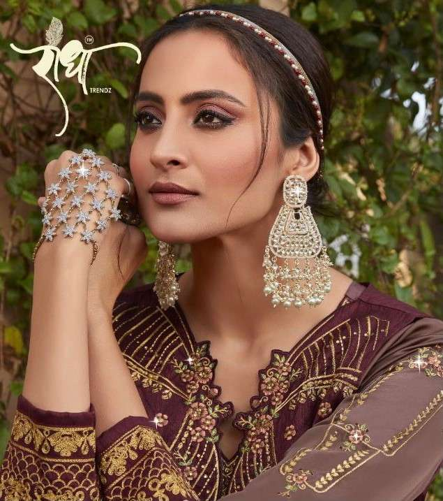 Radha Trends Sardarni Lehenga Style Salwar Kameez New Catalog Supplier