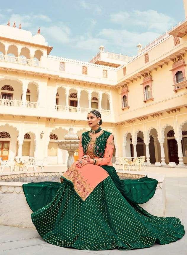 Radha Trends Sardarni Vol 3 Exclusive Lehenga Style Salwar Kameez Catalog Dealer