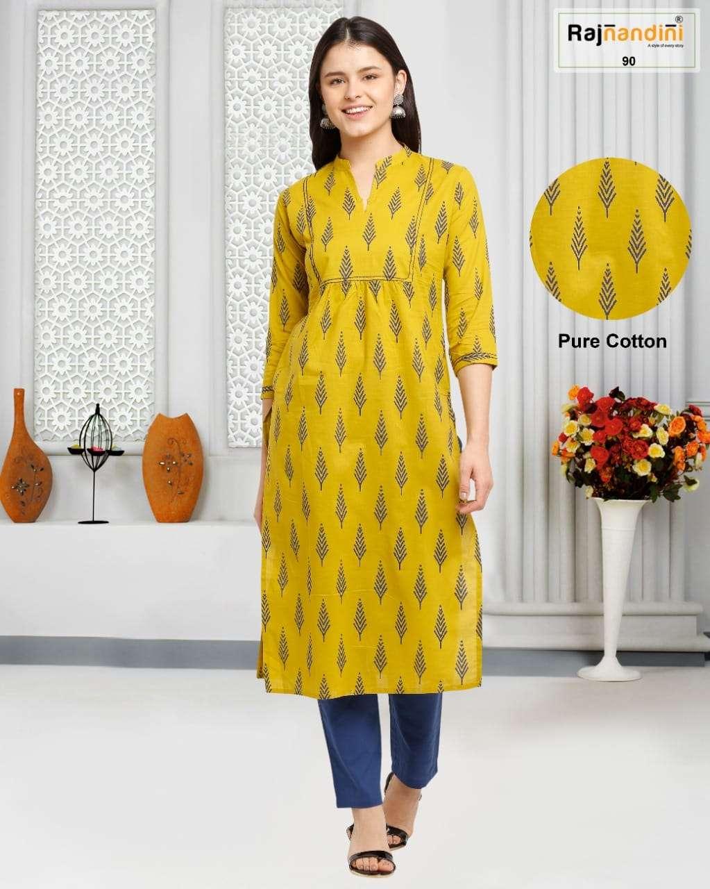 Rajnandini Vol 29 Printed Daily Wear Cotton Kurti New Designs