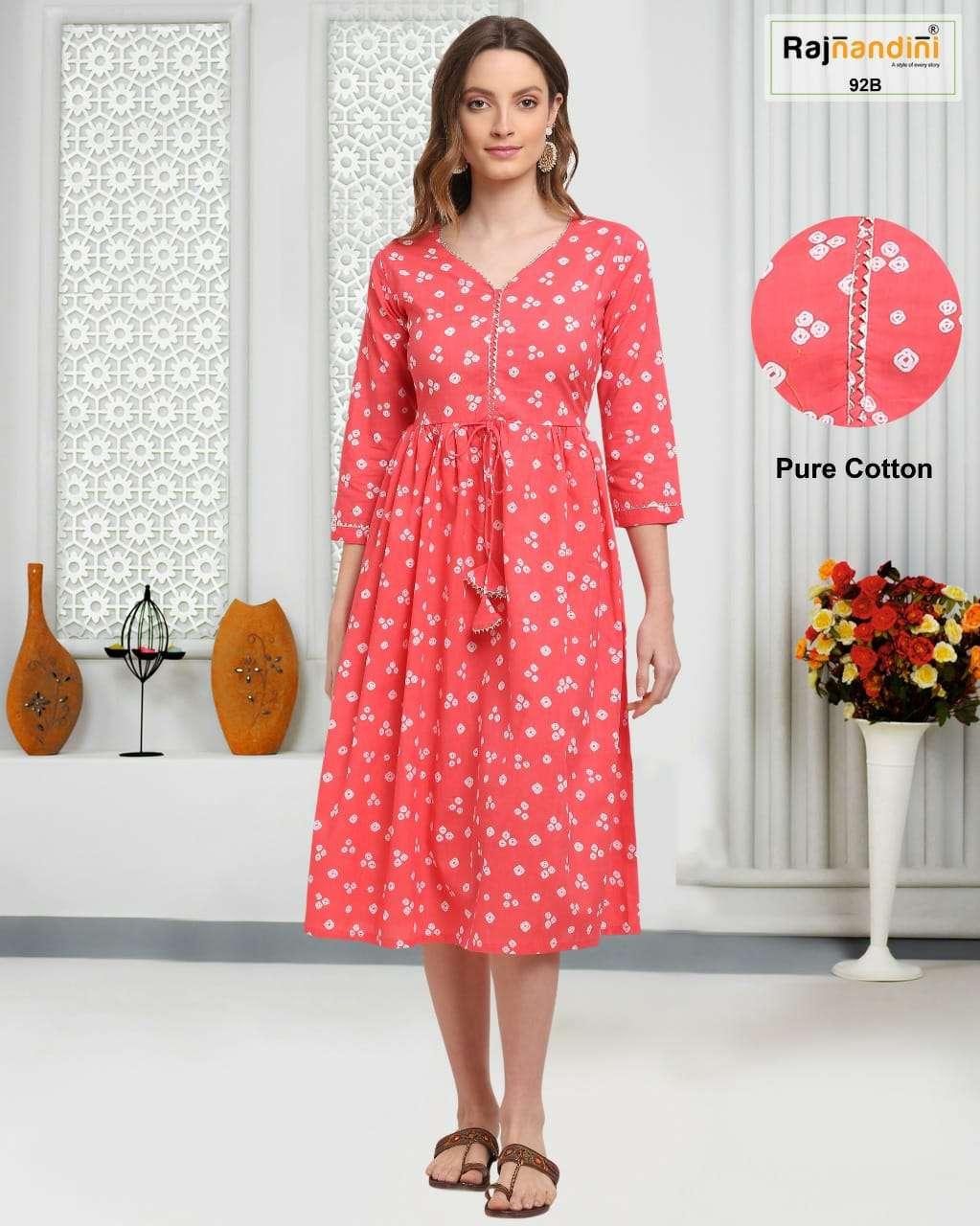 Rajnandini Vol 30 Printed Regular Wear Readymade Kurti New Designs