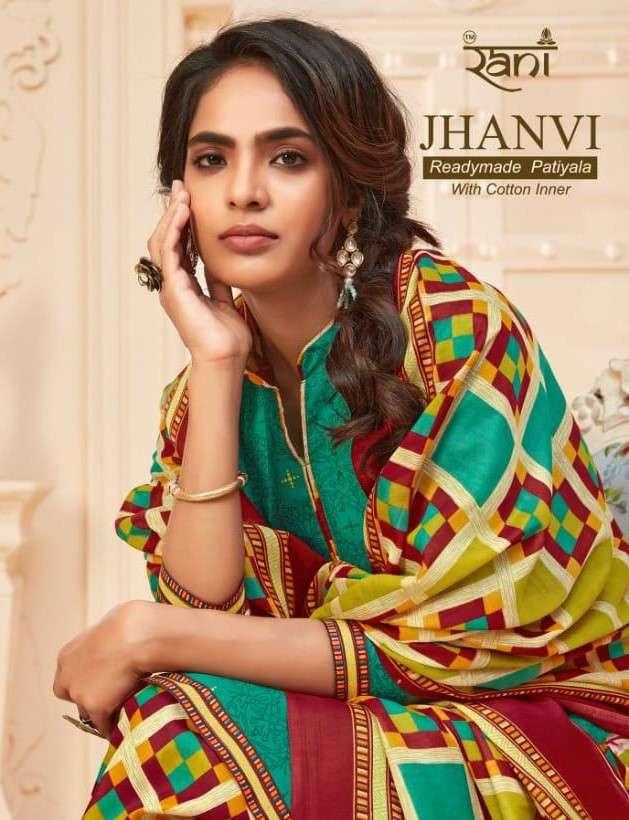 Rani Fashion Jhanvi Patiyala Readymade Cotton patiala Suit Catalog Dealer