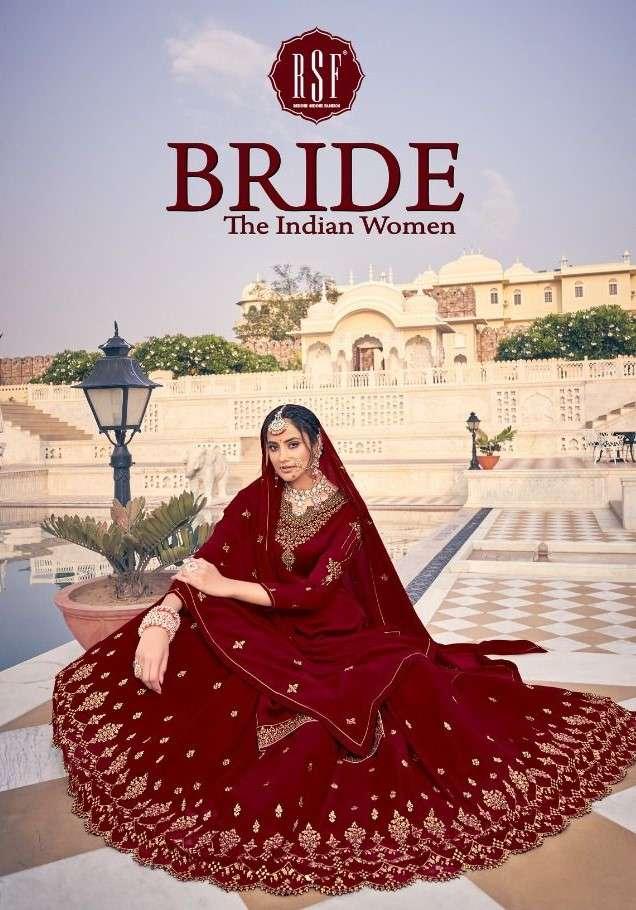 RSF Bride Skirt Style Karwa Special Salwar Suit Catalog Supplier