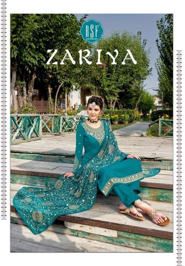 RSF Zariya Exclusive Fancy Straight Salwar Kameez Catalog Wholesaler