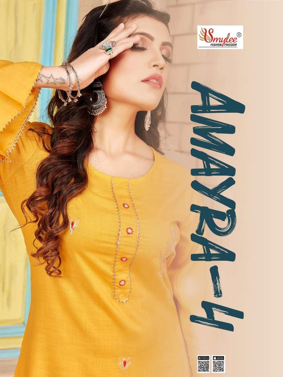 Rung Amayra Vol 4 Fancy Rayon Kurti Catalog Wholesale Price