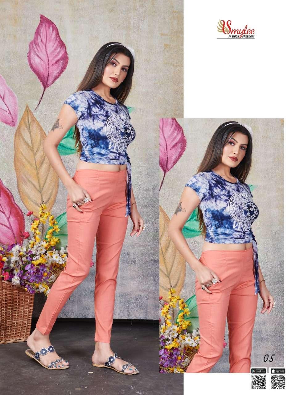 Rung La Bela fancy Stretchable Stylish pants Catalog Supplier