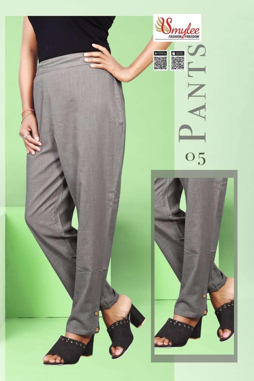 Rung pants Fancy Cotton Pants Catalog Supplier