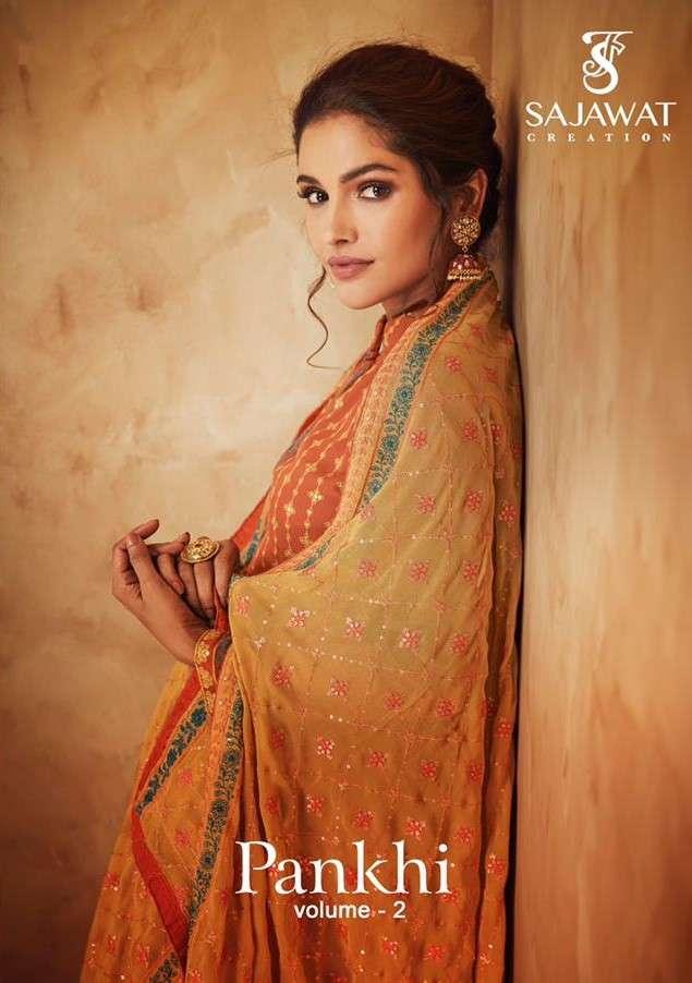 Sajawat pankhi Vol 2 Designer Fancy Readymade New Catalog Wholesaler