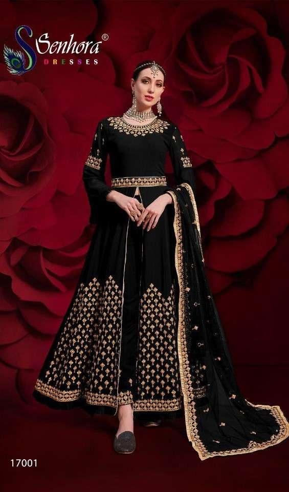 Senhora Agha Noor 17001 Colors Designer Party Wear Dress Catalog Supplier