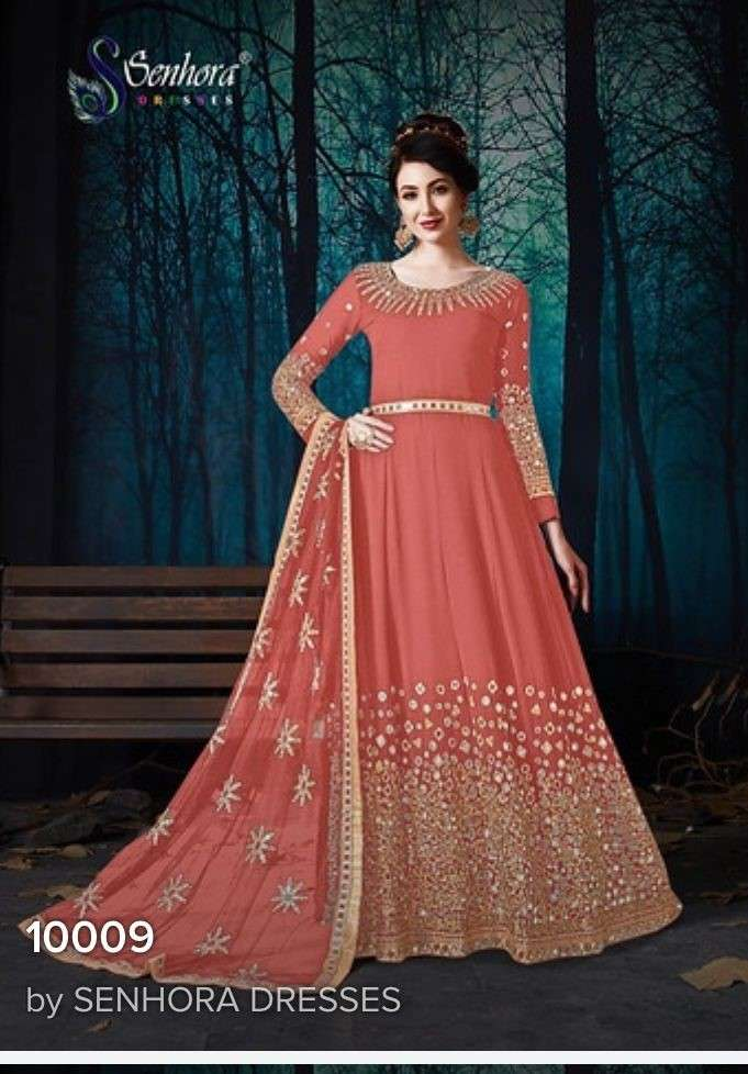 Senhora Rabaani Vol 2 Designer Anarkali Salwar Suit Catalog Wholesaler