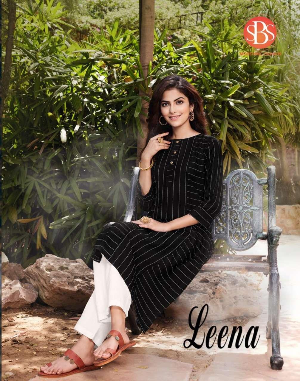 Subhash Leena Exclusive Cotton Kurti Pant Combo Set Catalog Wholesaler