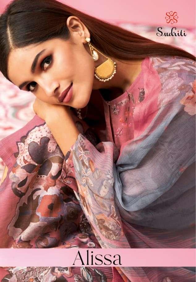 Sudriti Alissa Cotton Satin With Handwork Salwar Kameez Dealer