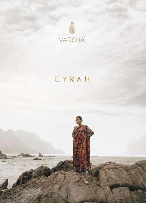 Varsha Cyrah Designer pashmina dress Winter Wear New Collection 2021