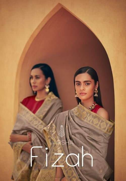 Varsha Fashion Fizah Designer Silk Salwar Suit Catalog Wholesale Price