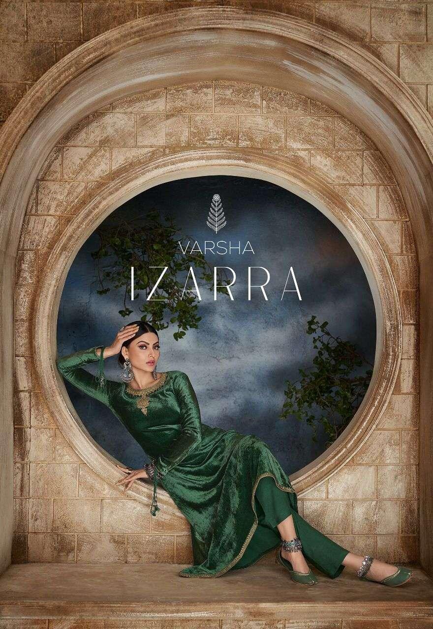 Varsha Fashion Izarra Designer Velvet Fancy Salwar Kameez Wholesaler