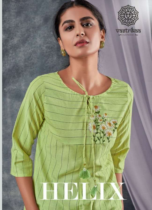Vastrika Helix Fancy Stylish Short tops Catalog Wholesale Price