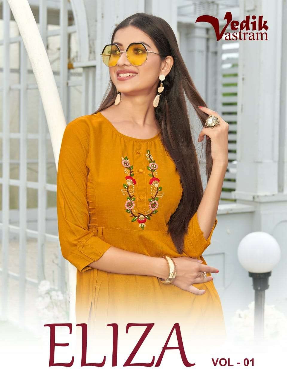 Vedik Vastra Eliza Vol 1 Rayon Short tops New Designs