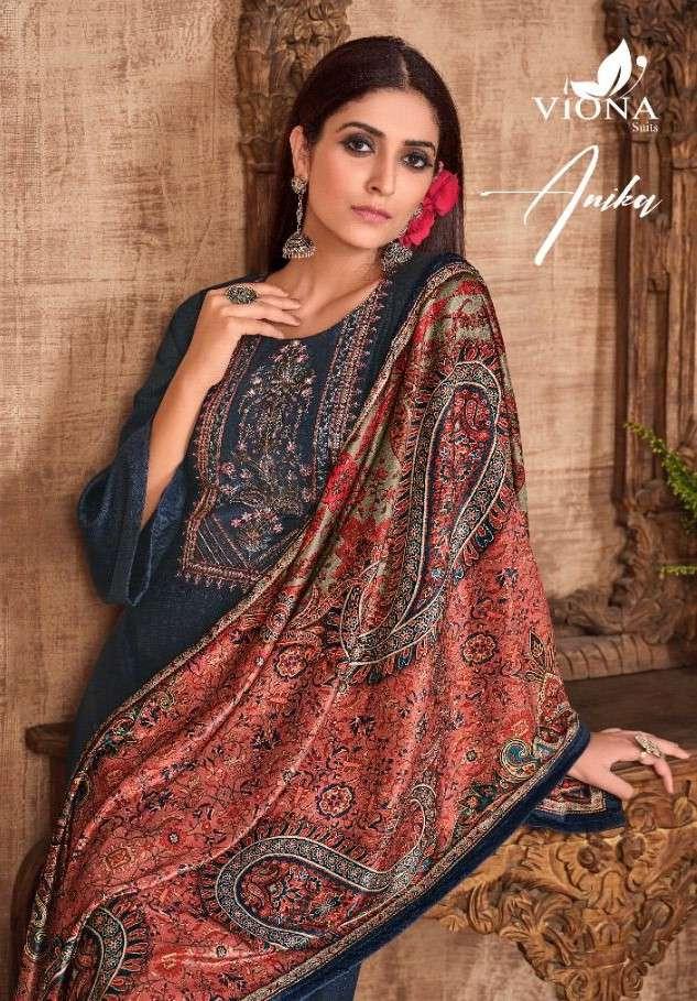 Viona Suits Anika Wool Pashmina Salwar Kameez Dealer Best price