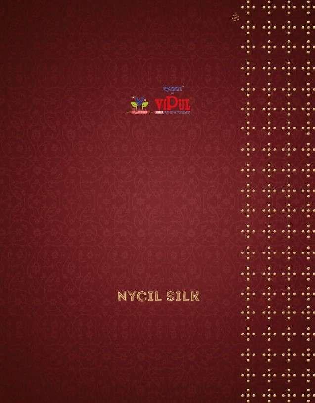 Vipul Nycil Silk Exclusive Fancy Chiffon Saree Catalog Wholesale Dealer