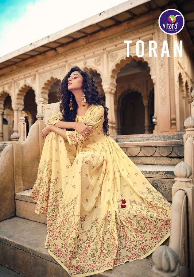 Vitara Fashion Toran Fancy Long Kurti Gown Catalog Wholesale price