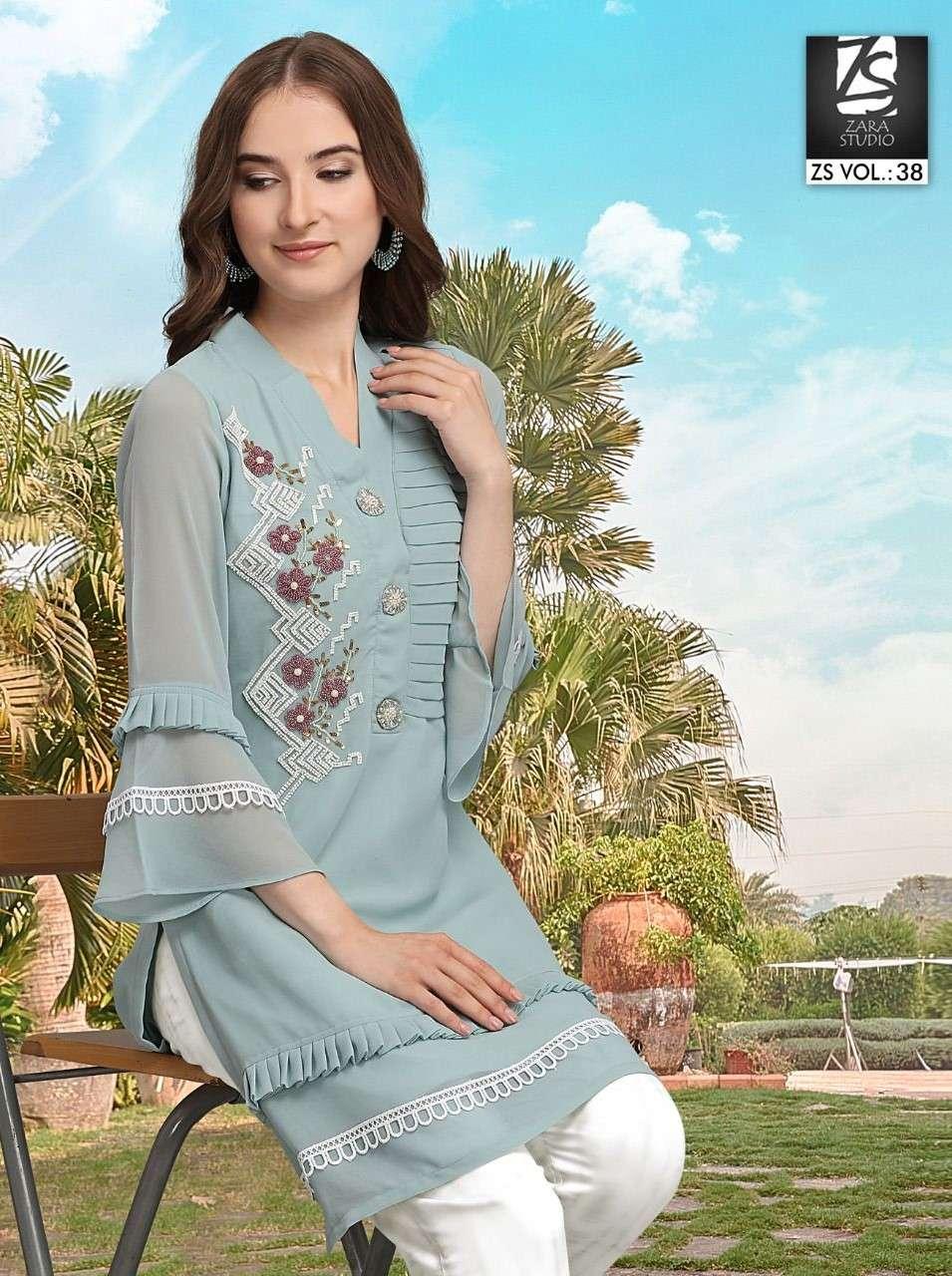 ZS Vol 38 Fancy Stylish Pakistani Style Readymade Collection