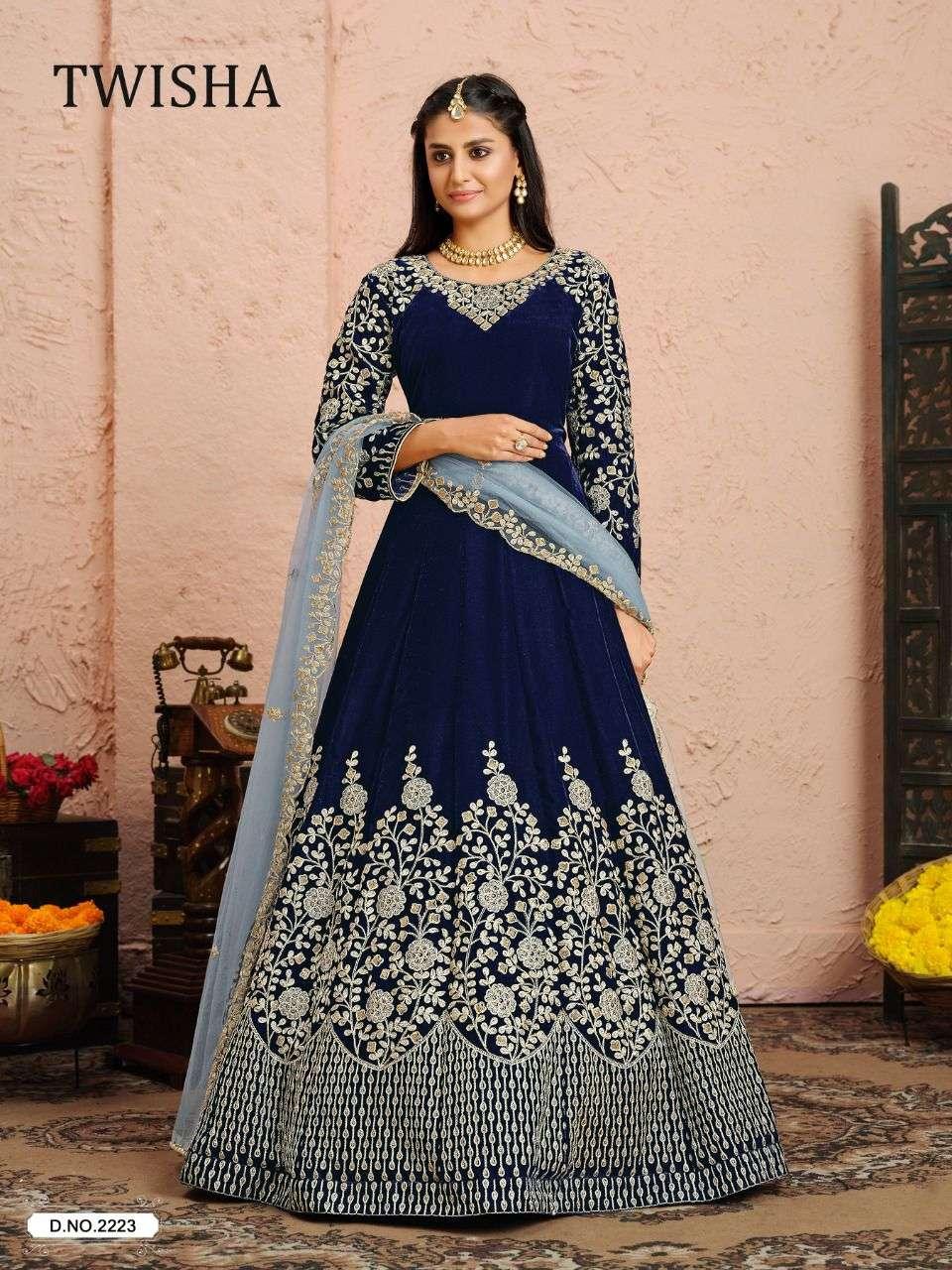 Aanaya Twisha Vol 22 Heavy Work Anarkali Dress Catalog Wholesaler