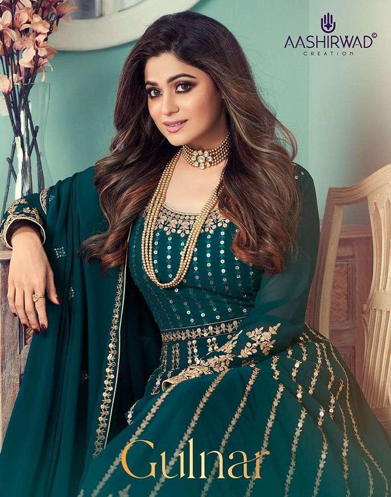 Aashirwad Gulnar Exclusive Ready to Wear Anarkali Dress Catalog Buy Online