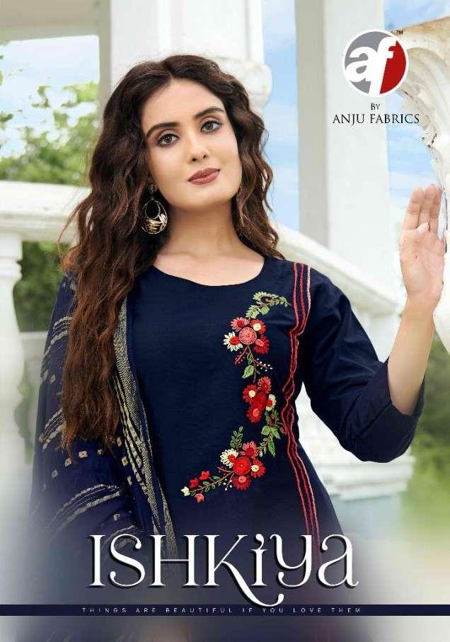 AF Stock Out Ishkiya Vol 1 Fancy Silk Kurti With Dupatta Set new catalog Wholesaler