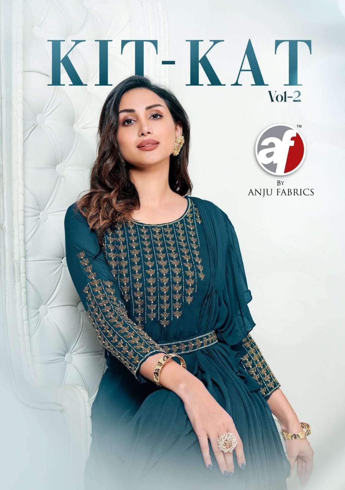 AF Stock Out Kitkat Vol 2 Exclusive Designer Readymade Gown Catalog Wholesaler