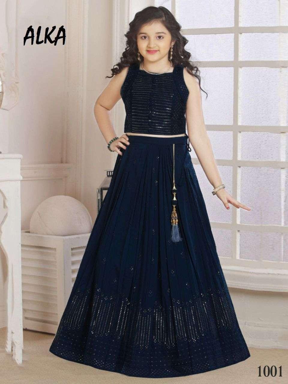 Alka Shaily Exclusive Lids Wear lehenga Choli Catalog Supplier