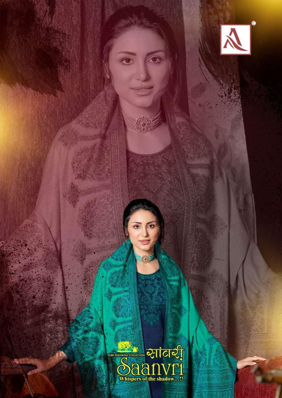 Alok Suit Saanvri Fancy Winter Wear Pashmina Ladies Suit Catalog Buy Online