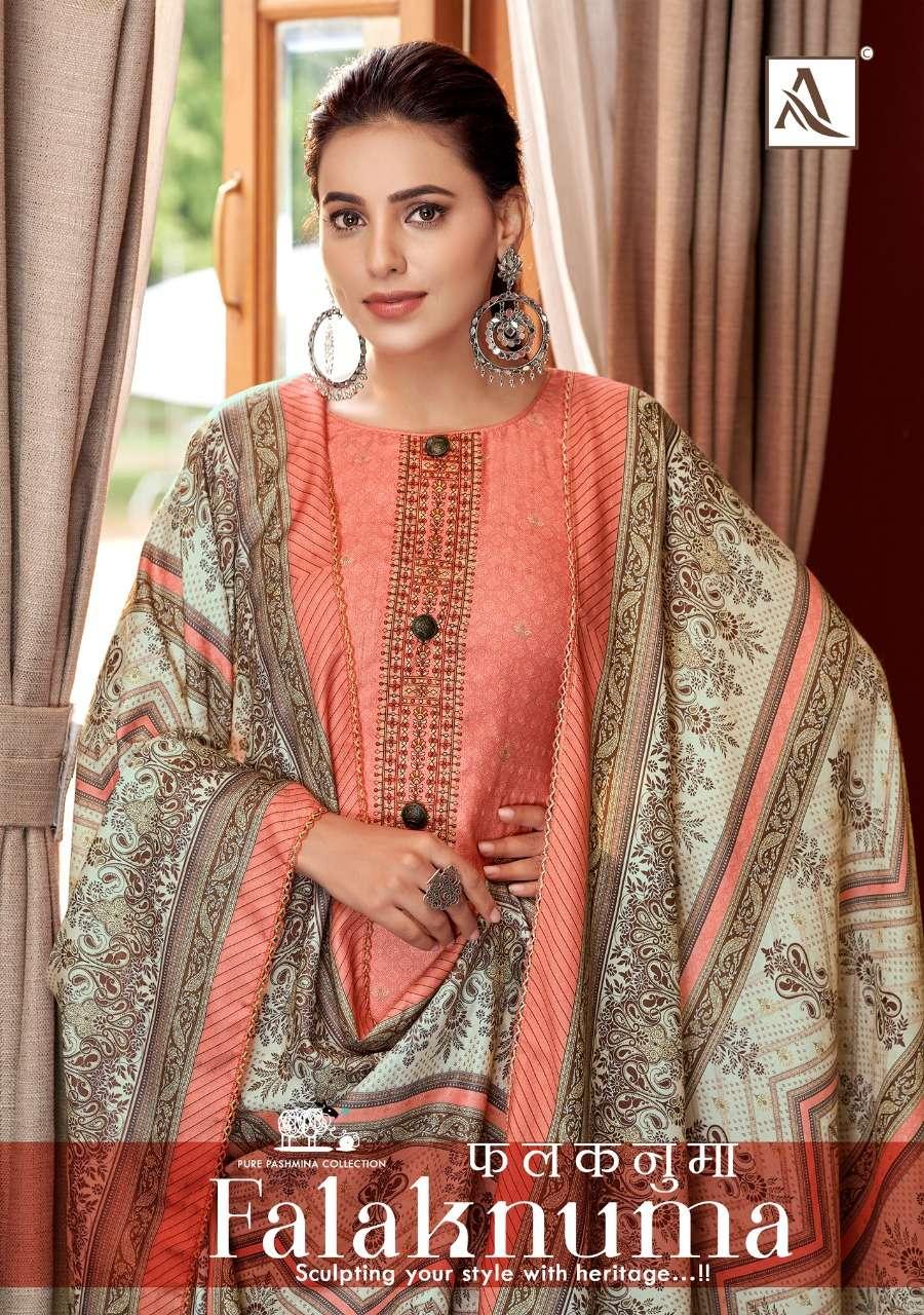 Alok Suits Falaknuma Exclusive Pashmina Winter Wear New Collection