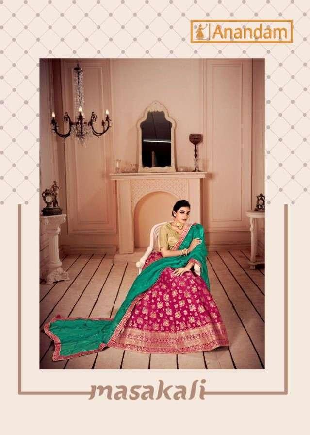 Anandam Masakali Exclusive Festive Wear Lehenga Choli Catalog Wholesaler