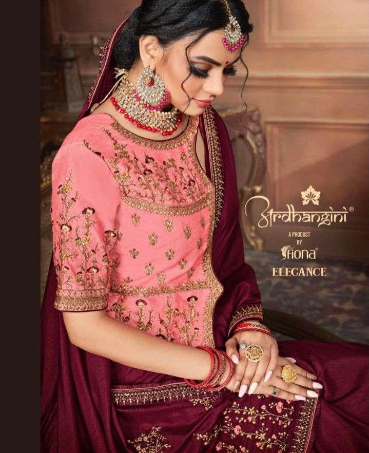 Ardhangini Elegance Exclusive Designer Silk Saree Cataog Wholesale