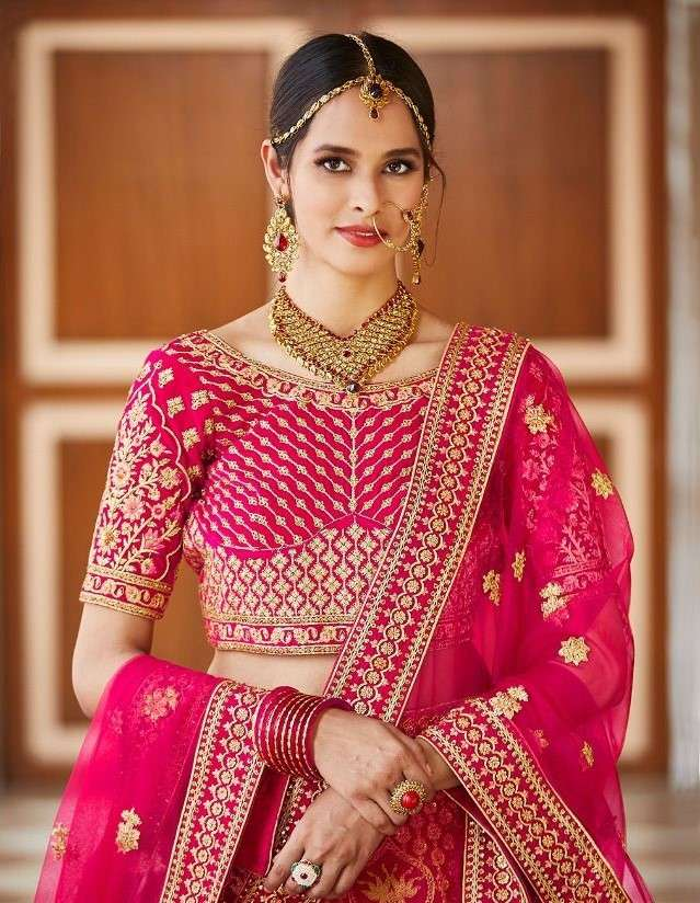 Arya Gulkhand Vol 4 Designer Heavy Work Bridal Lehenga Choli Catalog Supplier