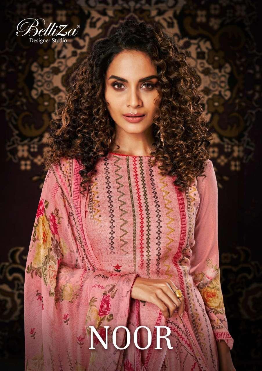 Belliza Noor Exclusive Pashmina Salwar Kameez Catalog Wholesaler
