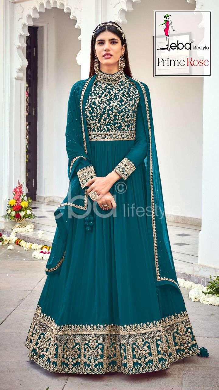 Eba Lifestyle Prime Rose Vol 3 Colors Designer Anarkali Suit Catalog Buy Online