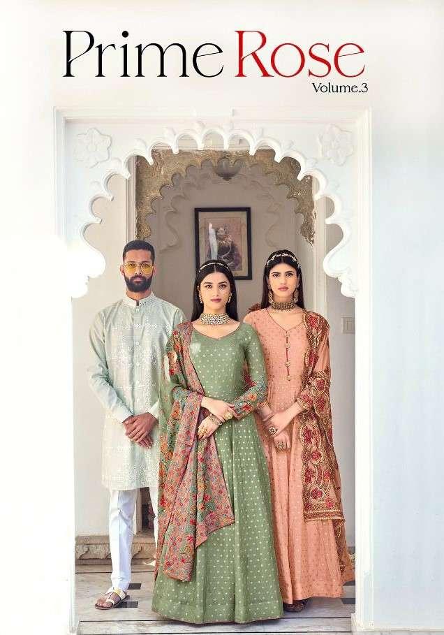 Eba Lifestyle Prime Rose Vol 3 Designer Anarkali Salwar Suit Catalog Dealer