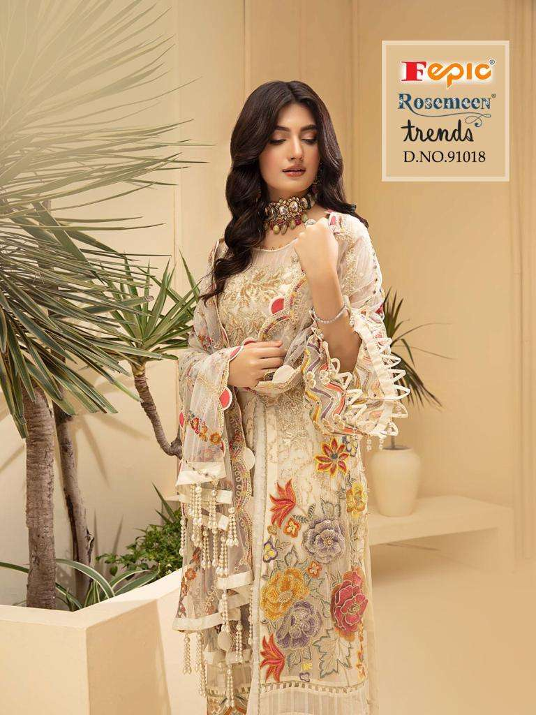 Fepic Rosemeen Trends Fancy Pakistani Salwar Suit Catalog Wholesaler